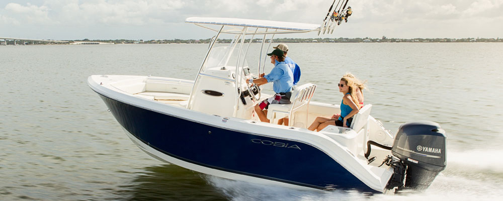 2019 cobia boats center console 201cc ingman marine for Yamaha repower cost