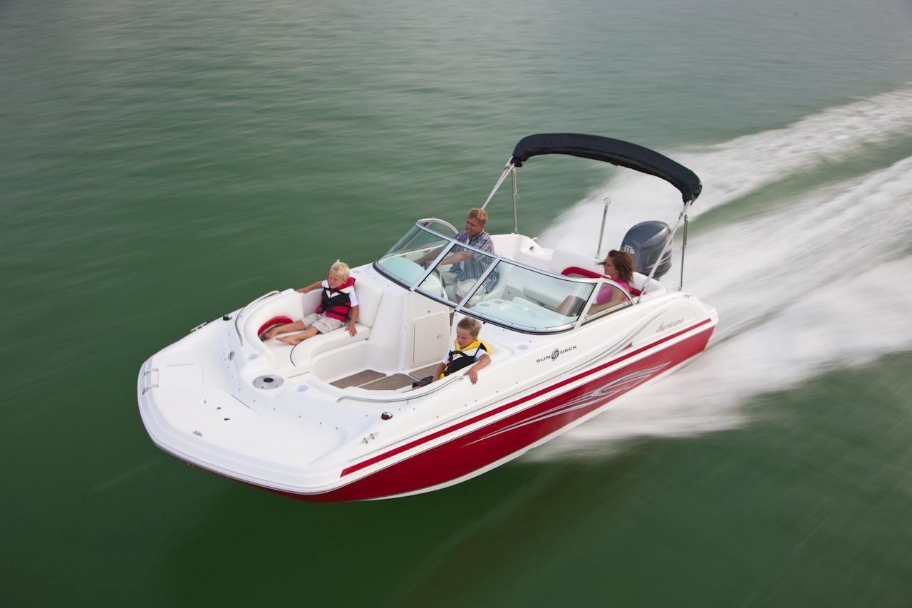 2019 hurricane deck boat sundeck 187 ob ingman marine for Yamaha repower cost