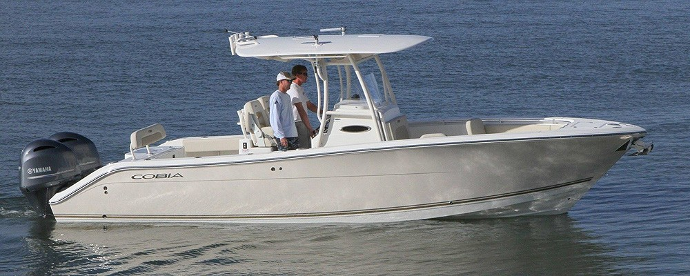 2018 cobia boats bay boat 277cc ingman marine for Yamaha repower cost