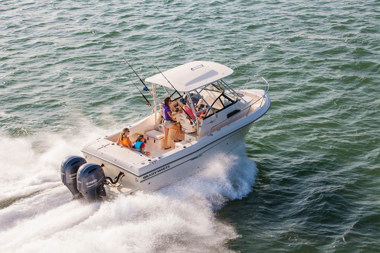2019 grady white walkaround gulfstream 232 ingman marine for Yamaha repower cost