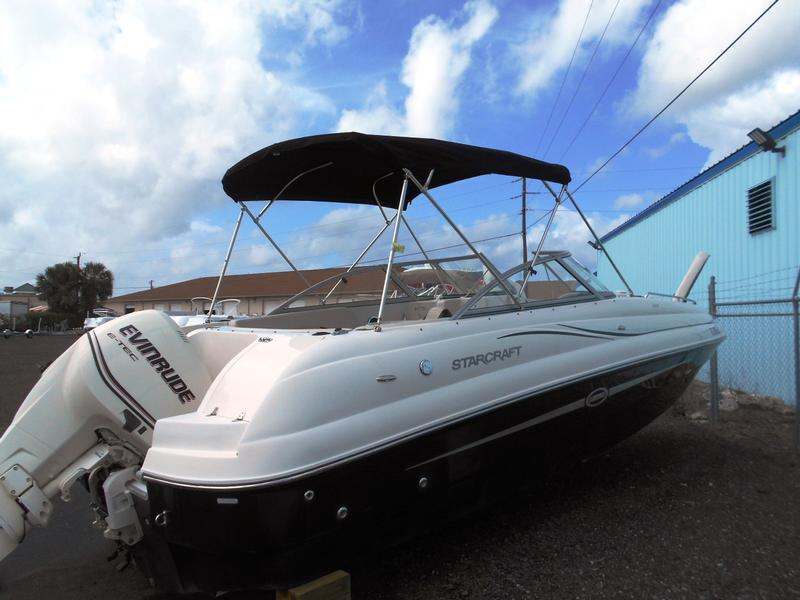 Preowned starcraft boats ingman marine for Yamaha repower cost